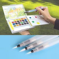 Wholesale cm Water Brush Pen Ink Water Color Calligraphy For Beginner Painting Office Gift Material Escolar
