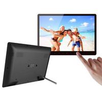 achat en gros de bluetooth cadre numérique-XUENVO S156 Mode 15.6 '' HD LED de contrôle tactile multimédia cadre photo numérique Musique Vidéo Affichage de la photo Horloge calendrier E-book.