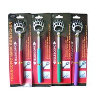 ask steel - Special stainless steel massage scratching Telescopic bear s paw do not ask for Itch scratched Ten yuan promotional gifts