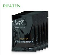 Wholesale 3000pcs PILATEN Facial minerals deep Cleansing Pad Face Nose herbal Blackhead Remover face mask pore strip health beauty care