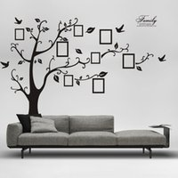 art for kids furniture - 250x200cm PVC Large photo wall photo frame wall stickers sticker furniture bedroom decorative background wallpaper photo tree stickers