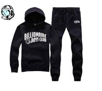 Cheap Wholesale 2016 fall winter billionaire boys club muscle men high quality brand fleece tracksuit funny hoodies fashion hip hop sweatshirt 666
