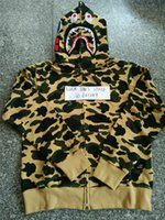 Wholesale 2017 Men fashion Shark Hoodie Men Shark jacket Hip Hop Sweatshirts Mens Sudaderas Hoodies Men Polerones Hombre
