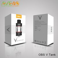 big experience - OBS V Tank OBS V Sub Ohm Tank ml Big Capacity Tank Great Smoky extreme power crazy experience VS Smok TFV8