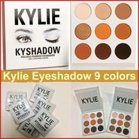 Wholesale Kylie Kyshadow Bronze Eyeshadow Kit Kylie Jenner Pressed Powder Eye Shadow Palette Kylie Cosmetics the Bronze Palette Waterproof Eyeshadow