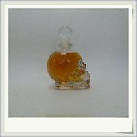 Wholesale E liquid ml skull glass bottles with cork luxury skull crystal vodka wine bottle