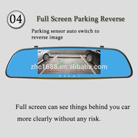 australia car reviews - GPS rearview mirror Combination and CE Certification review mirror GPS car camcorder