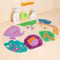 bathtub prints - hot selling Bath mats cartoon shell bathroom suction cup for baby and child mats bathtub mat lovely animal toilet mats cm