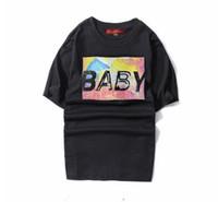 Men baby clothes fitness - Arrival T Shirt Men Women Hip Hop Harajuku BABY T shirt Printed Tee marvel Tshirt Homme Dota Fitness Brand Clothing