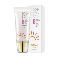 Wholesale pc brand SISEAN sun cream oil control isolation moisturizing sunscreen cream g body facial sunblock lotion spf