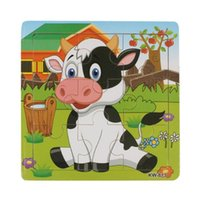 best dairy cow - Best seller Wooden Dairy Cow Jigsaw Toys For Kids Education And Learning Puzzles Toys vob51229