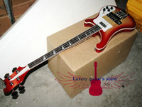 Wholesale Custom strings Electric Bass Guitar Cherry burst