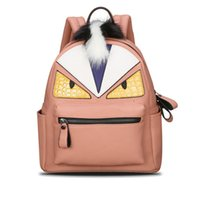 Wholesale 2016 New Fashion backpacks men travel backpack women school bags for teenagers girls mochilas Monster leather backpack