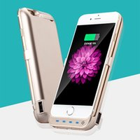 Wholesale New design High quality Slim Power case for iphone plus mAh Portable Battery Charger Cases power backup