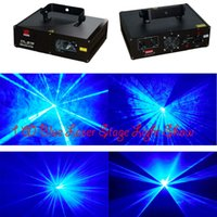 Wholesale Hot sale mw nm blue dmx laser stage disco light dj equipment
