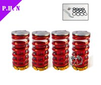 Wholesale Forged Aluminum Coilover Kits for Honda Civic Red available Coilover Suspension Coilover Springs