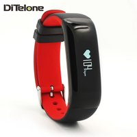 Wholesale DiTelone P1 Smart Wristband Bluetooth Smart Sports Bracelet Heart Rate Blood Pressure Monitor Waterproof Smart Band IOS Android