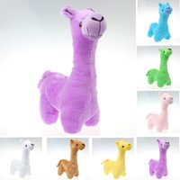 alpaca accessories - 30cm Alpaca Plush Doll Toy Fabric Sheep Stuffed Animal Plush Llama Yamma Birthday New Year Christmas Gift For Baby Kid Children