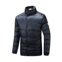 Wholesale 2016 new classic fashion designer winter high quality cotton men casual downcoat three color m xxl