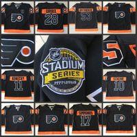 army men series - 17 Wayne Simmonds Stadium Series Philadelphia Flyers Hockey Jerseys Men Shayne Gostisbehere Travis Konecny Ivan Provorov Claude Giroux