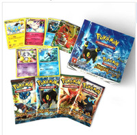 Wholesale 2017 new cards set English Edition Poke mon go XY evolutions cards Trading toy carte Poke go Figures Game Gift For Kids free DHL
