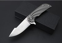 bearing grinding - High quality Mars Road high end titanium handle quick opening knife r18Mo pure manual grinding Blade Bearing knife