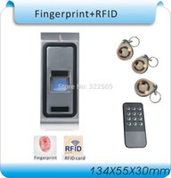 Wholesale waterproof remote DC V F2 fingerprint access control metal box access controller remote RFID cards