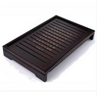 Wholesale YGS Y186 Hot Sale Kung Fu Tea Set Natural Solid Wooden Tea Tray Rectangular Wood Traditional Puer Tea Tray Big Size