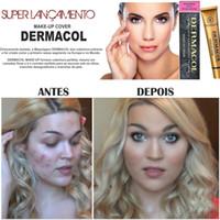 base color - Dermacol Make up Cover g Primer DC Concealer Base Professional Face Dermacol Makeup Foundation Contour Palette Makeup Base Free DHL