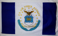 air force flags - Air Force Retired Emblem Flag X5Ft Custom Football Hockey College Baseball Flag