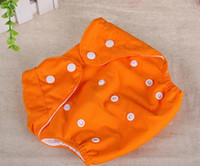 Wholesale Baby Diaper Inserts Baby Diaper Cloth Pockets Cotton Diaper Adjustable Layer C709