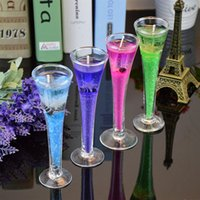 art wax candles - High sea jelly candle candle cup glass ornaments Home Furnishing creative wedding gift factory direct