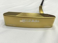 Wholesale golf clubs Gold MIURA forged putter inch with steel shaft Come headcover pc Miura golf putter