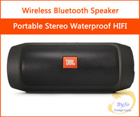 Wholesale JBL Charge2 Wireless Bluetooth Speakers Subwoofers Nice Quality HIFI Sounds Box Stero Waterproof Speaker Portable for Outdoor Playing Music