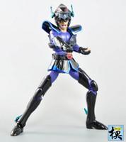 Wholesale King model Saint Seiya Black Dark Pegasus Helmet Cloth Myth EX Metal Armor knights of the zodiac action figure toy