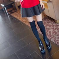 Wholesale Tall waist pleated skirt