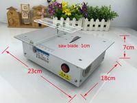 al por mayor micro sierras-Alambre de aluminio micro tabla vio alta precisión PCB cortadora Mini DIY modelo vio sierras de madera de precisión