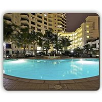 apartment mouse - mouse pad park place suite high rise apartment building san diego california usa Game Office MousePad
