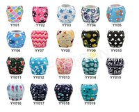 Wholesale Cute Cartoon Washable Reusable One Size baby swimming nappies Summer Swimwear ages Retail and