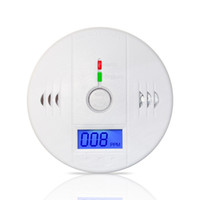 Wholesale High Sensitive LCD Digital Backlight Carbon Monoxide Alarm Detector Tester CO Gas Sensor Alarm for Home Security dB