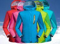 Wholesale New Stylish Winter Ski Outdoor Sport Hiking Kids Jacket Warm Windproof Camping Boys Girls Anti abrasion Coat