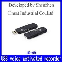Wholesale USB VOX Flash Drive Voice Recorder UR Audio recorder Hnsat UR