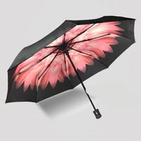 Wholesale Creative Umbrella Three Fold Large Umbrellas High end Men s Business Umbrellas Custom Umbrella Umbrella Rain Women