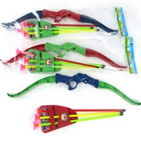 archery set toy - Bow Arrow Playsets Archery Shooting Sport Outdoor Games Competitive Props Children Kids Gift Toys Set Plastic