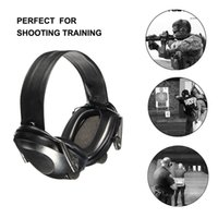 Wholesale Freeshipping New Anti noise Impact Sport Hunting Electronic Tactical Earmuff Shooting Ear Protectors Hearing Protection Earmuffs