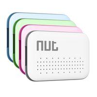 Wholesale MAHA Brand New Green Nut Mini Smart Tag GPS Tracker Bluetooth Anti lost Alarm Key Finder Locator Green Pink White Blue