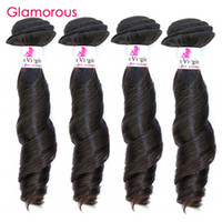 Glamorous Hairstyle Indian Remy Hair Weave 4 Bundles Funmi Wave Brazilian Malaysian Peruvian Hair Weft Cheap Weave Hair for blacks