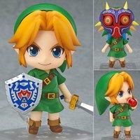 Wholesale The Legend of Zelda Link Nendoroid Game Action Figures Original Box cm Anime PVC Model Toys Doll Collection Christmas Gift
