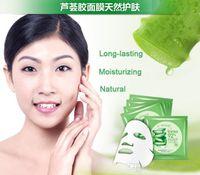acid gel - Skin Care Natural Aloe Vera Gel Facial Mask Moisturizing Oil Control Shrink Pores Brightening Hyaluronic acid Facial Mask DHL Free shopping