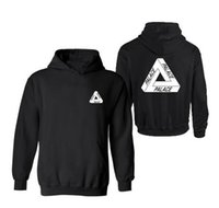 Wholesale High Quality Mens Palace Skateboards Hoodie Male Cotton Triangle Sweat Palace Sweatshirt Palace Hoodies M XL